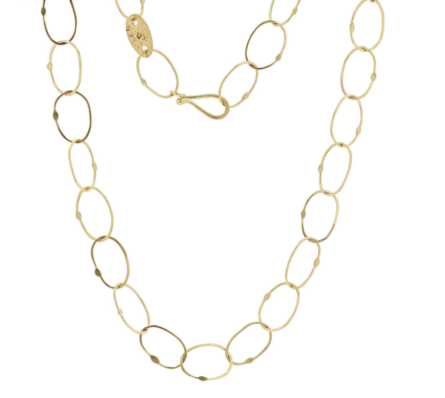 Petra Class Medium Oval Link Chain Necklace