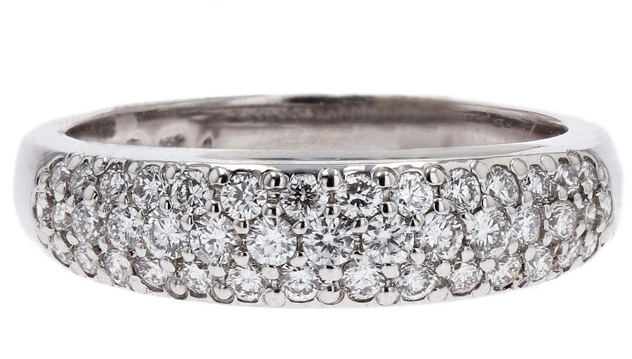 Jabel Diamond Pave Band