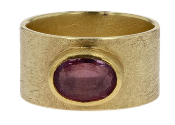 Petra Class Oval Pink Sapphire Ring