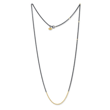 Lika Behar Mixed Metal Rolo Chain Necklace