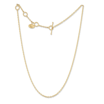 Lika Behar All Gold Rolo Chain for Pendants