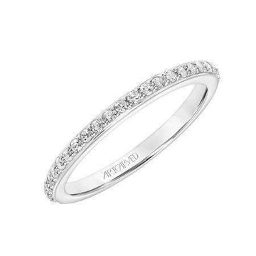 Artcarved Medium Diamond Wedding Band