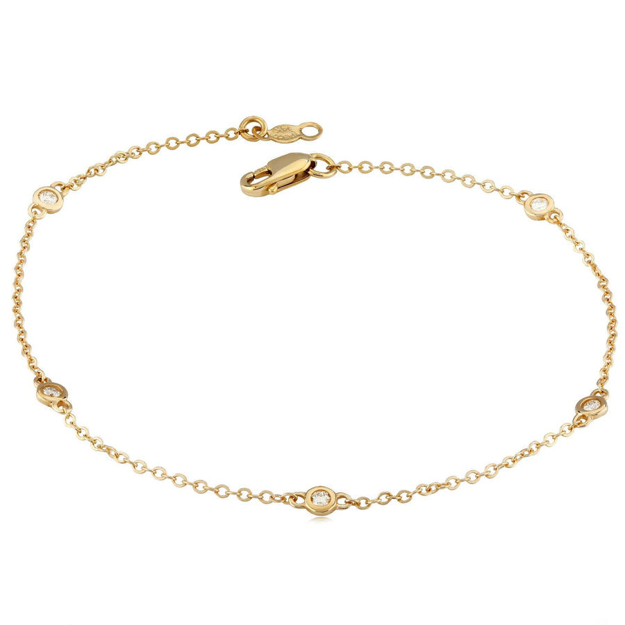 Carla | Nancy B.  5 Station Bracelet