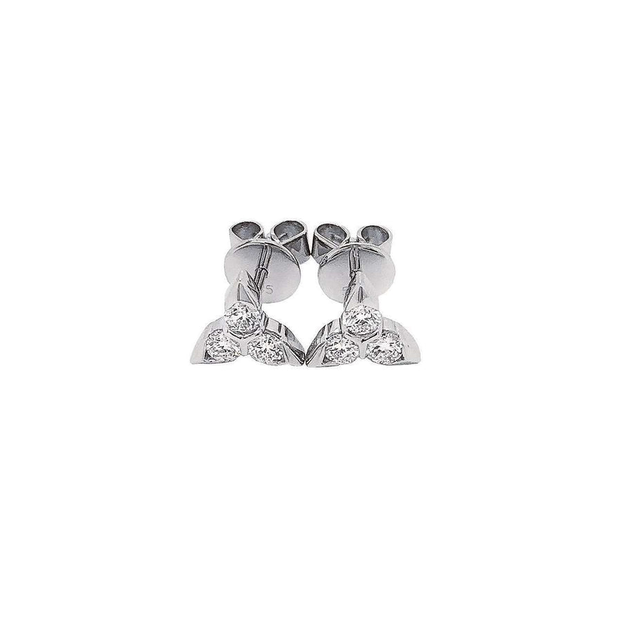 Frederic Sage Diamond Trilogy Studs