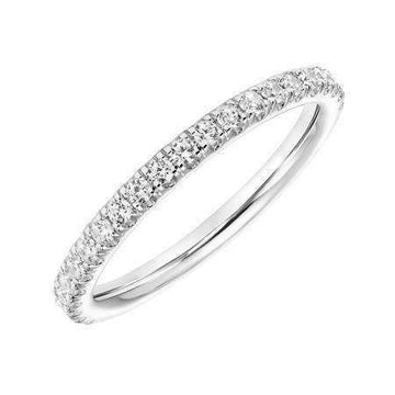 Frederick Goldman Simple Diamond Wedding Band
