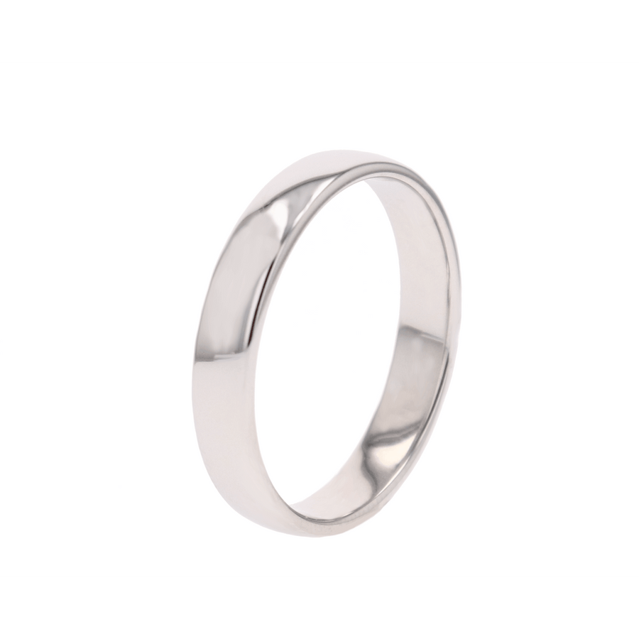 Furrer Jacot Plain Platinum Wedding Band