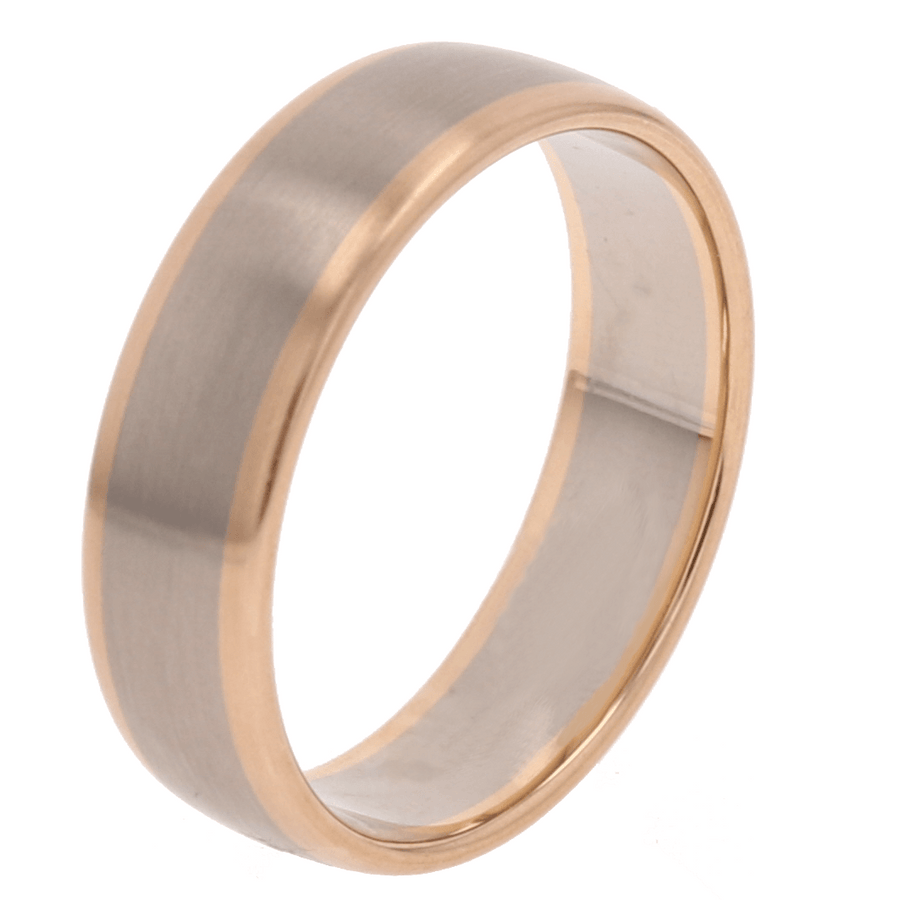 Furrer Jacot Two Tone Satin Edge Band