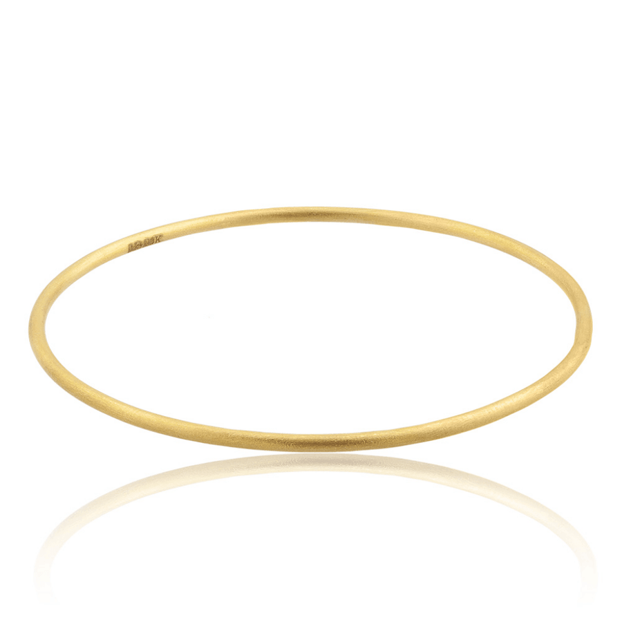 Lika Behar 24k Gold 2mm Thin Bangle