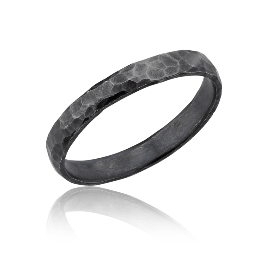 Lika Behar Flat Hammered Fusion Ring
