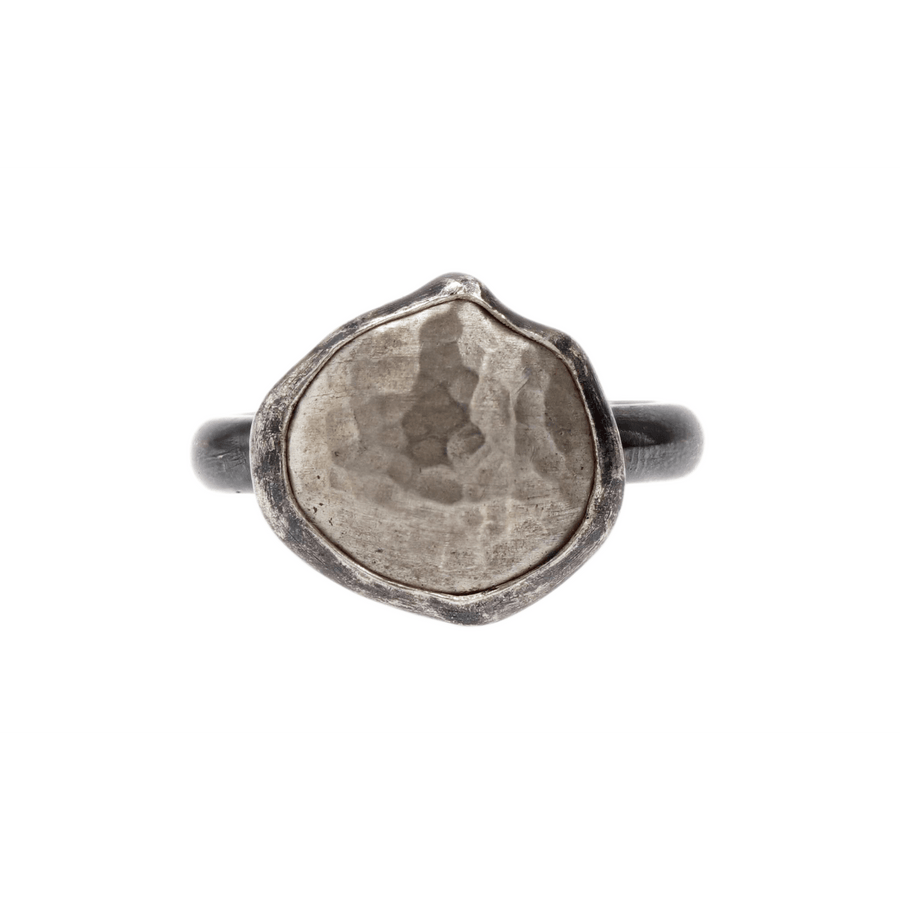 Lika Behar Hammered Dome Top Ring