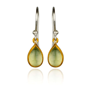 Lika Behar Phrenite Dangles Earrings