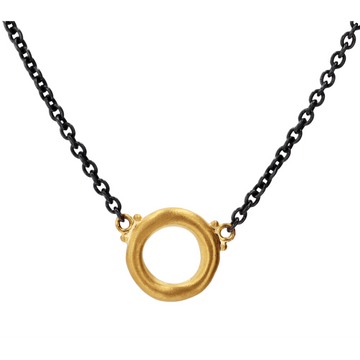 Lika Behar Roundabout Circle Necklace