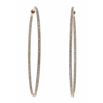 Luxeout Lily Diamond Hoops