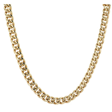 Midas Hollow T Miami Cuban Chain Necklace