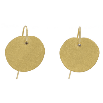 Petra Class Gold Petal Earrings