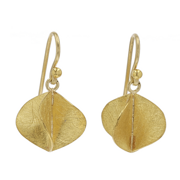Petra Class Gold Propeller Earrings
