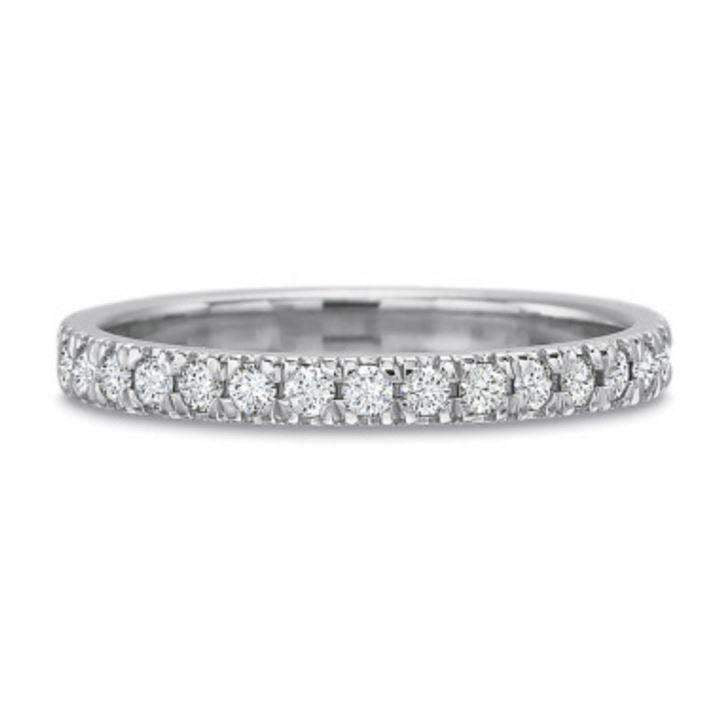 Precision Set New Aire Diamond Eternity Band 0.50ct