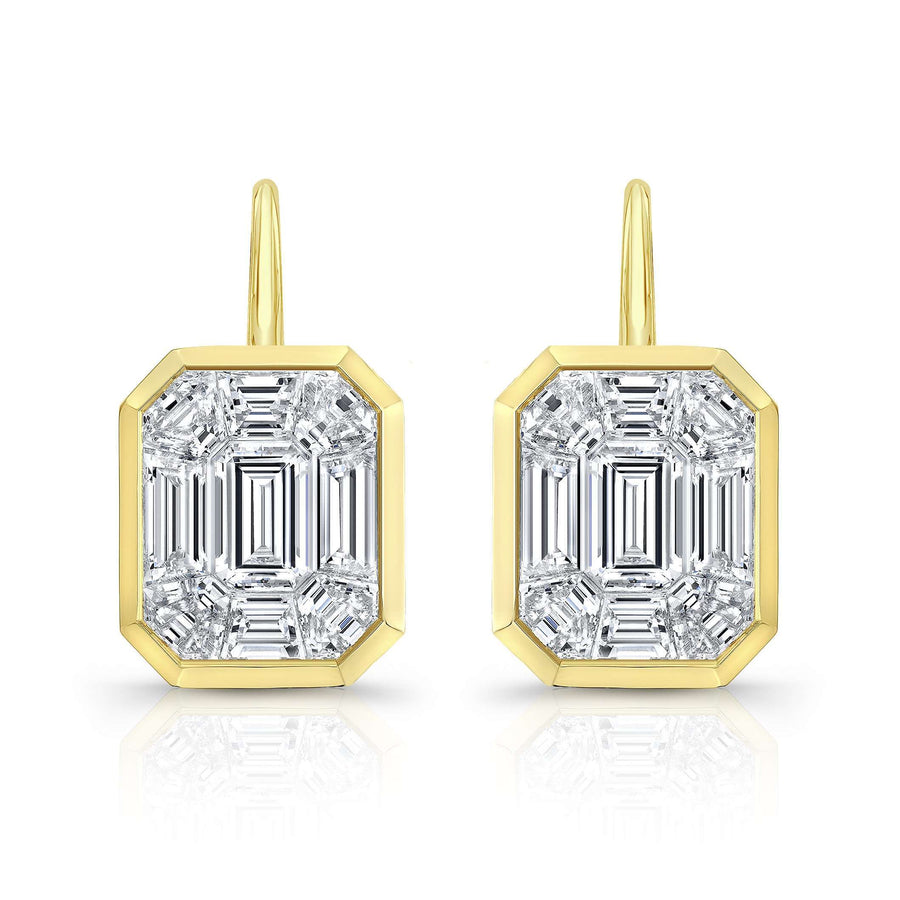 Rahaminov Kaleidoscope Mixed Diamond Earrings