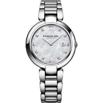 Raymond Weil Shine Stainless Mother of Pearl Dial Watch
