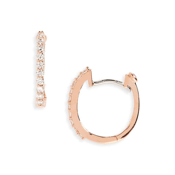 Roberto Coin Diamond Baby Hoops - Perfect Diamond Hoop Collection