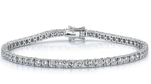 Shy Creation 2.02CTW Diamond Tennis Bracelet