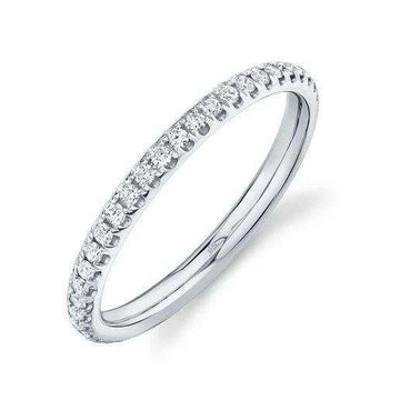 Shy Creation .40CTW Diamond Eternity Band