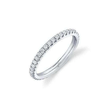 Shy Creation .58CTW Eternity Diamond Band