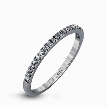 Simon G. Delicate Diamond Wedding Band