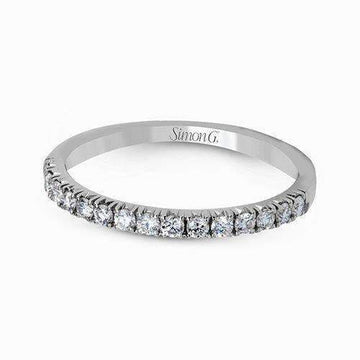 Simon G. Prong Set Diamond Wedding Band