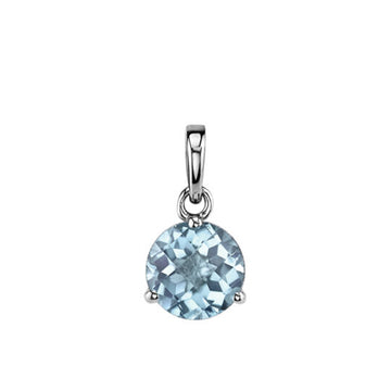 Stanton Color Aquamarine Martini Pendant