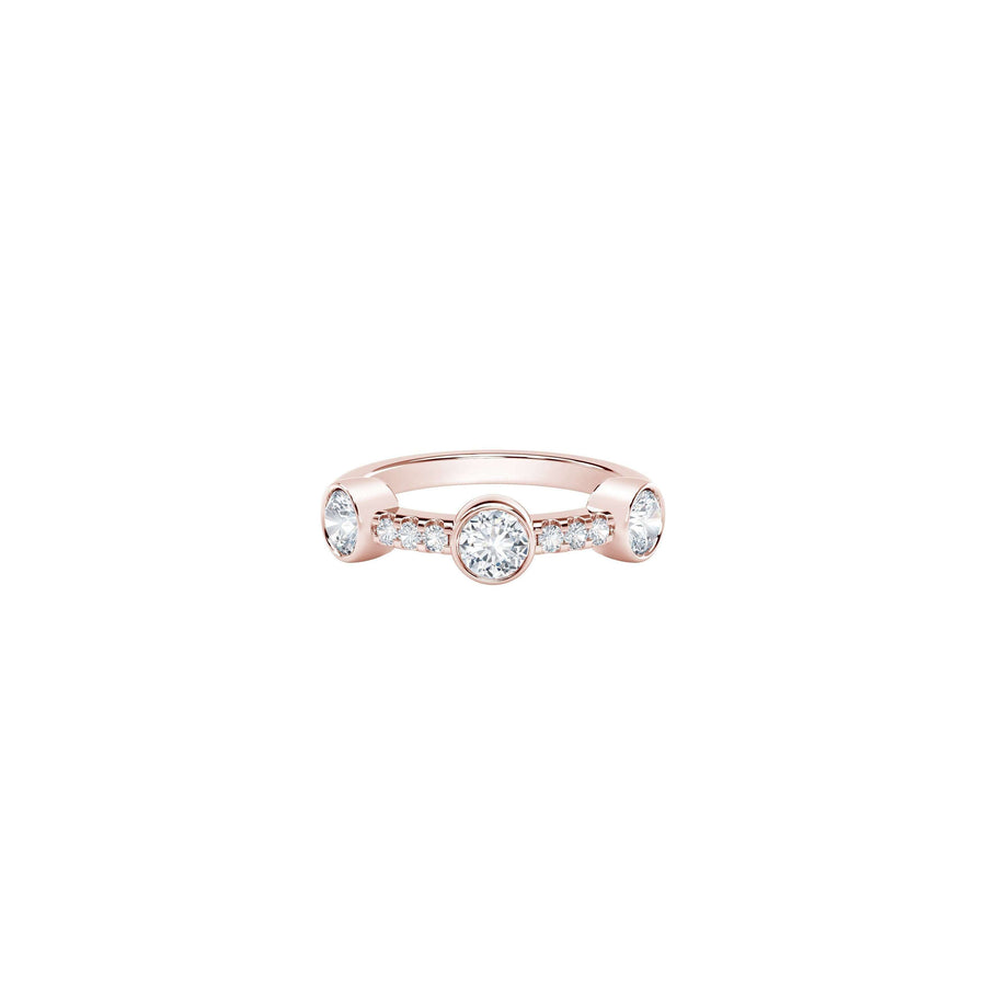 The Forevermark Tribute Collection Three Stone Diamond Ring
