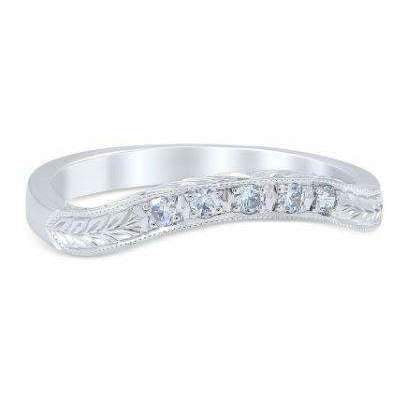 Whitehouse Brothers Floral Burst Wedding Band