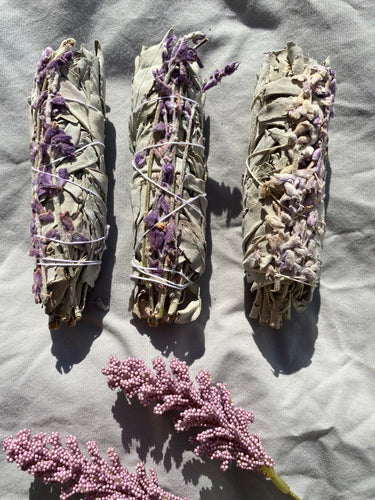 White Sage & French Lavender Stick