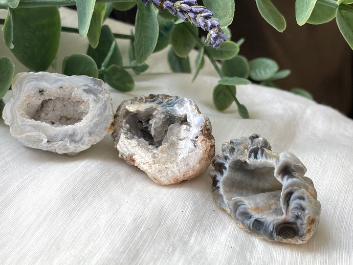 Agate Occo Geode Small