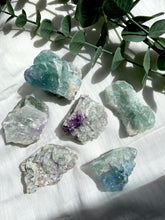 Load image into Gallery viewer, Rainbow Fluorite Rough Large