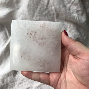Selenite Cleansing & Charging Plate