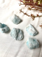 Load image into Gallery viewer, Blue Aragonite Rough Small