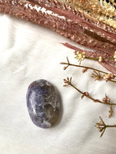 Load image into Gallery viewer, Pink Tourmaline in Lepidolite Palmstone 1