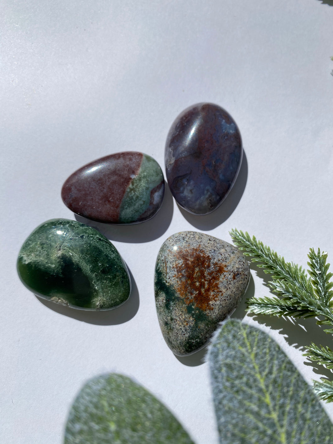 Fancy Jasper Smooth Stone