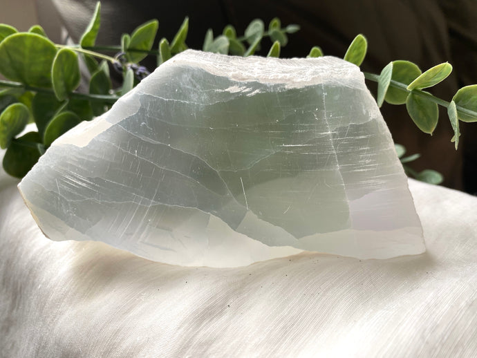 Selenite Slab Large