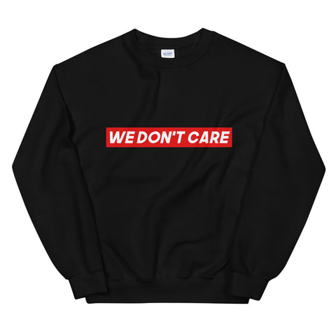 PULL NOIR WE DON'T CARE RED