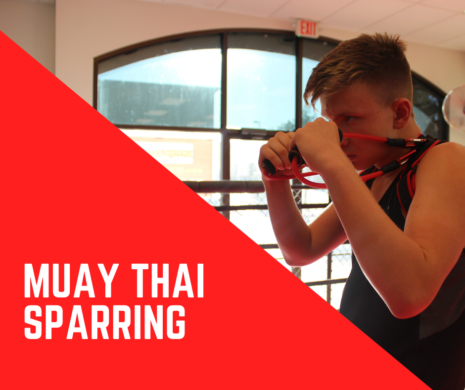 Muay Thai Sparring with FITBOXR Resistance Trainer