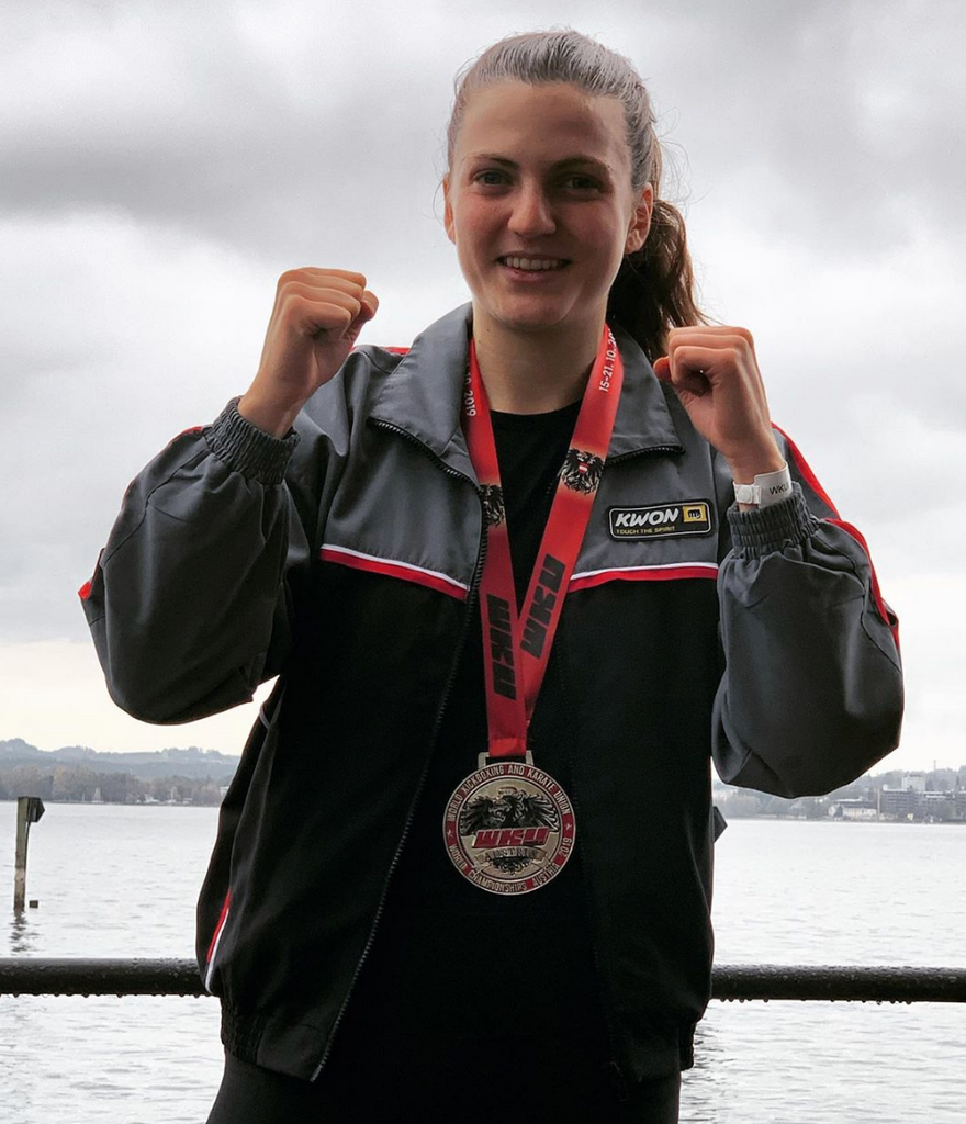FITBOXR Kickboxing Athlete Julia Kigel Earns Silver Medal in KickLight 18+ at WKU World Championship