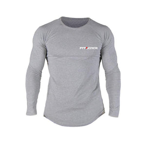 Trainer TECH-FIT™ L/S Tee - Light Grey