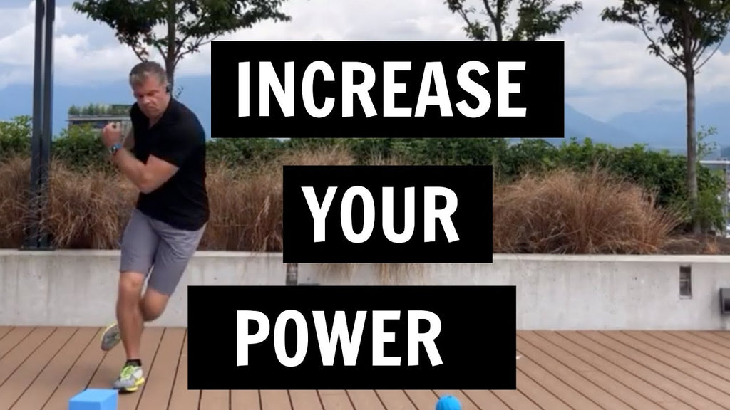 An exercise for golfers to increase power and clubhead speed