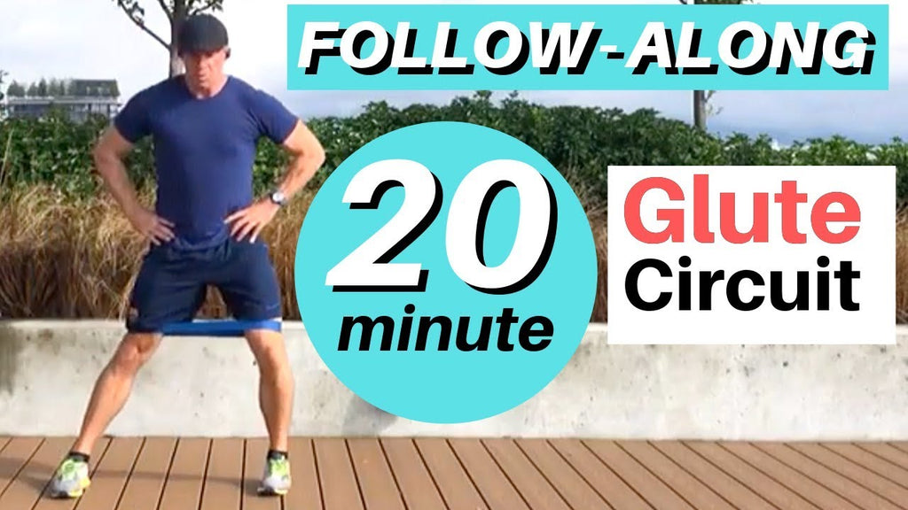 20 Minute Follow-Along Glute CIrcuit for Golfers