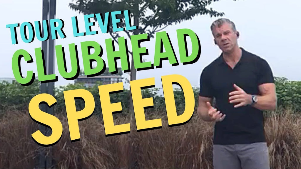 A Secret to Achieve Tour Level Clubhead Speed