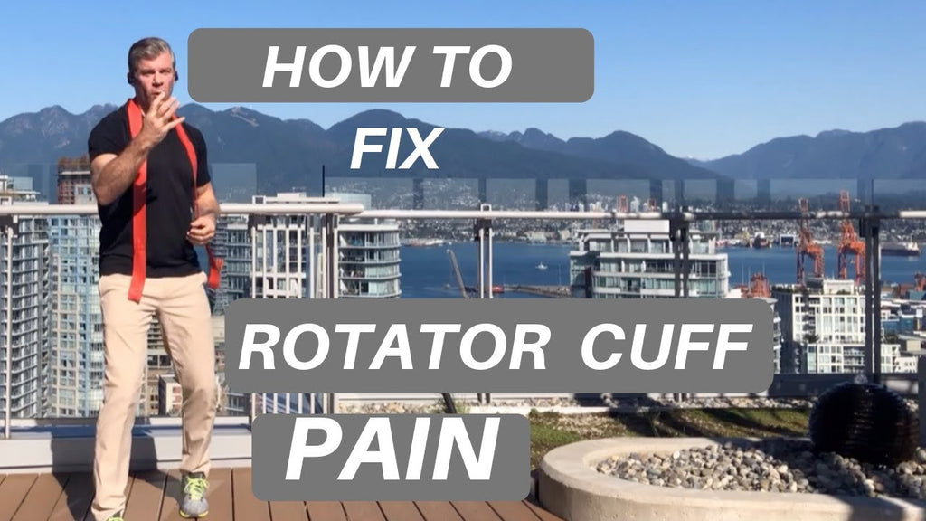 How to Fix Rotator Cuff Pain