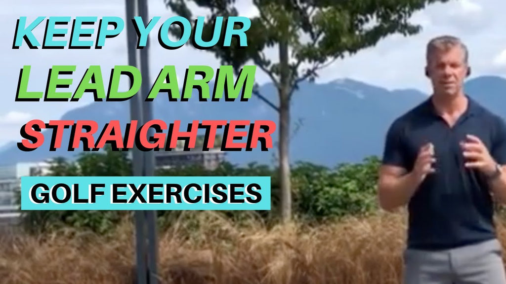 How to Keep Your Lead Arm Straighter