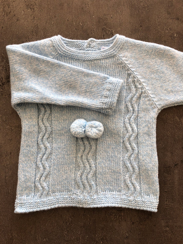 Boys knitted Trouser & Jumper Suit